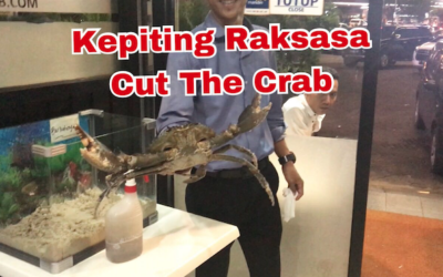 Kepiting Raksasa Papua by Cut The Crab